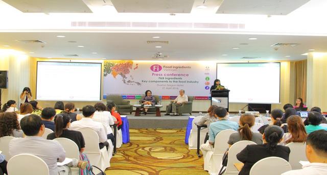 Triển lãm Nguyên liệu phụ gia thực phẩm Fi Vietnam 2016